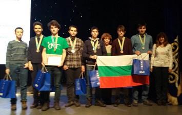 Блага вест 5 златни медала донесоха Български ученици от олимпиада