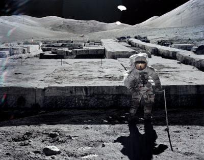 Конспирация ! Имат ли САЩ и Русия бази на луната ?