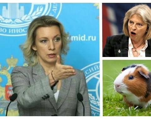 Мария Захарова : Защо Лондон мълчи за домашните животни на Скрипал?