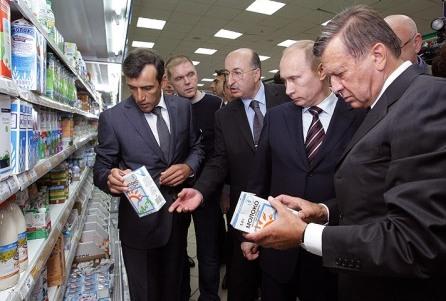 Вижте как в Русия се справиха с двойните стандарти на храните!