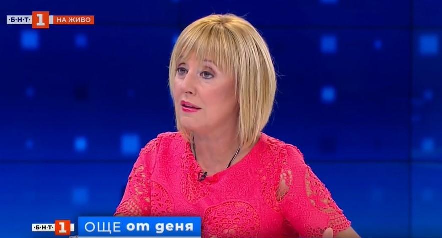 """Манолова: Борисов се превърна в модела """"Орешарски-2"""" в опит да спаси властта си"""