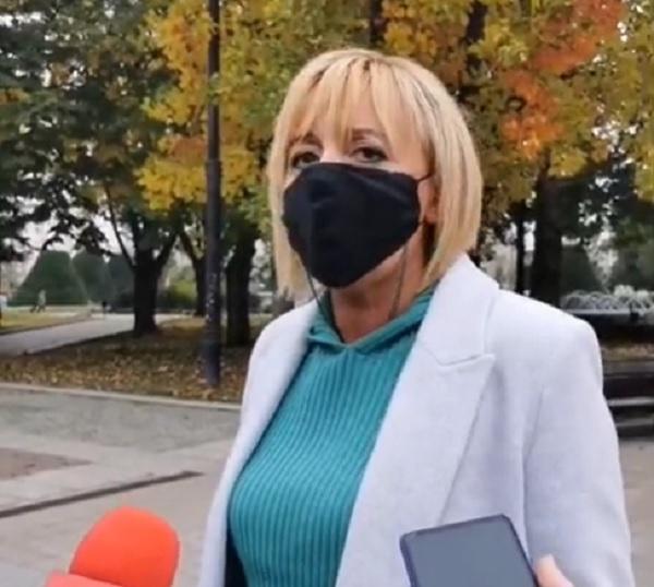 Манолова: Народният гняв ще отнесе Борисов и правителството му, ако не се вземат мерки срещу COVID-19
