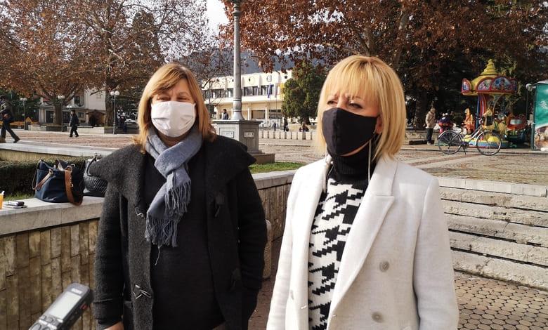 Манолова: Подкрепяме Троян в каузата срещу одържавяване на ВиК-дружеството