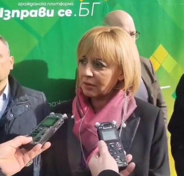 Манолова: Утре ще поискаме оставката на Сачева заради неизплатените пари за малкия бизнес
