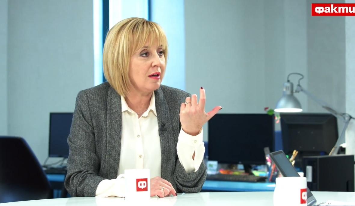 Манолова: Опозицията обеща, но не внесе законовите промени за видеонаблюдението
