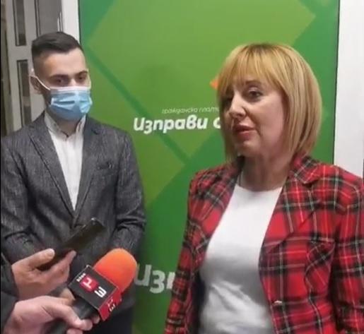 Манолова: Ние сме единствената платформа за подкрепа на обикновените хора, не работим за елита