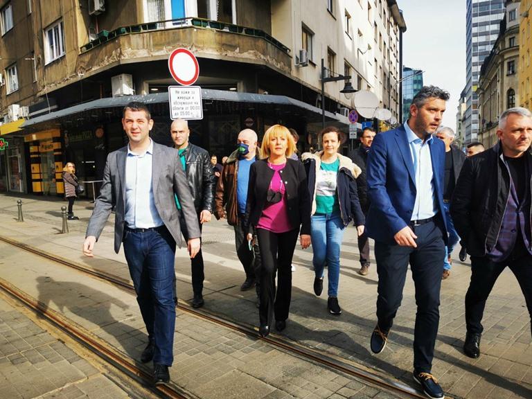 Манолова и Отровното трио ще се регистрират в ЦИК за изборите