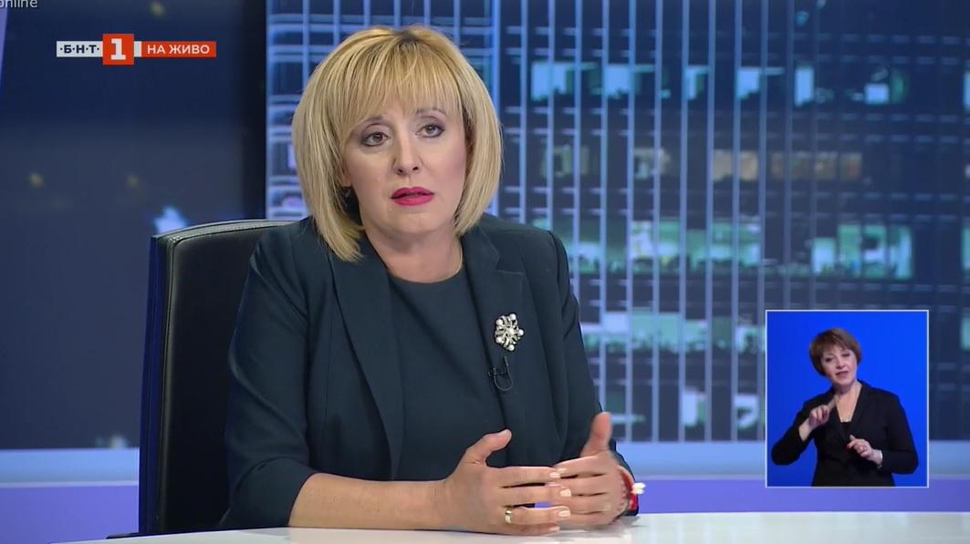 Мая Манолова: Борисов погреба парламента