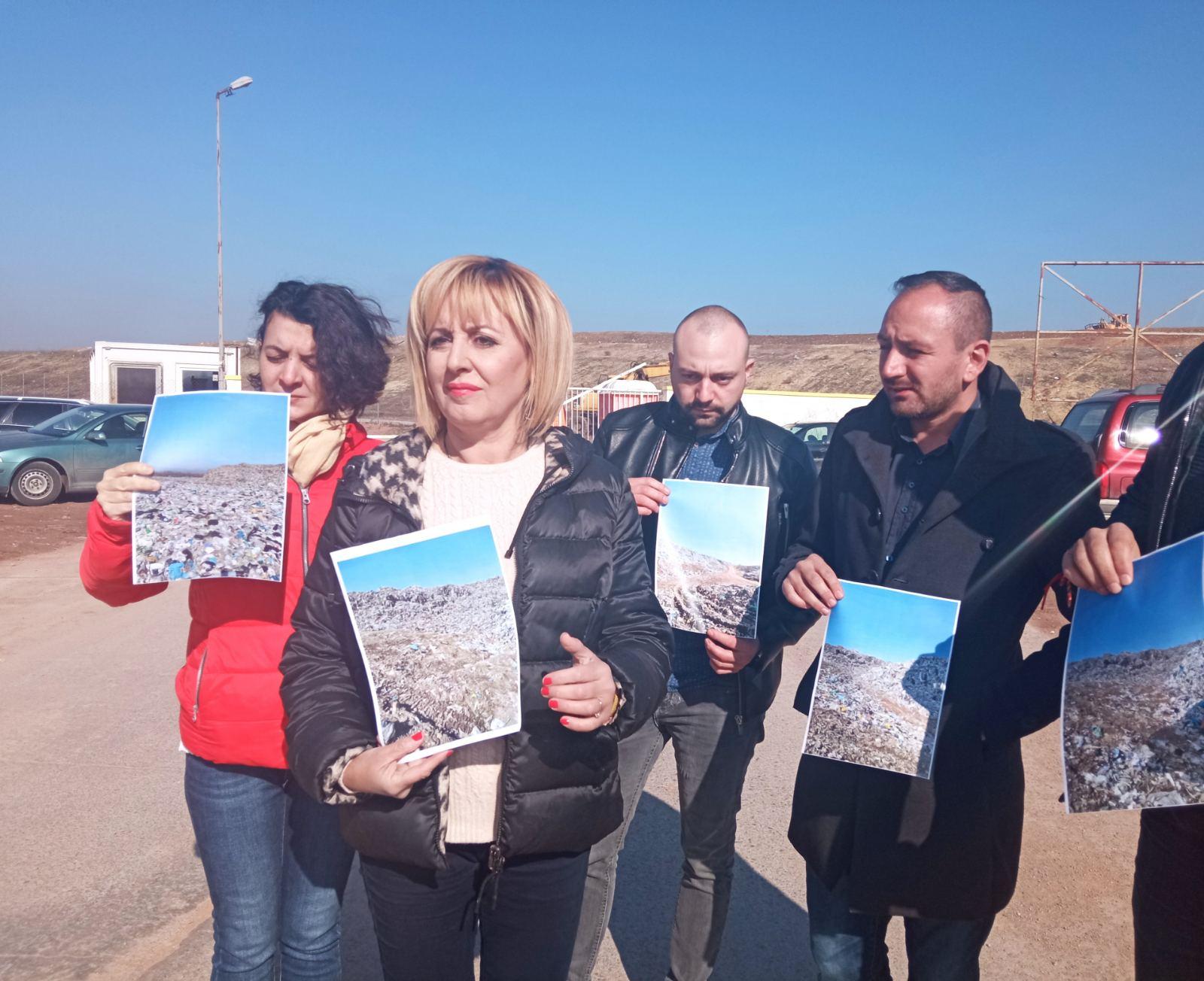Мая Манолова: Подаваме сигнал до ОЛАФ и до Кьовеши за нарушения в завода за боклук в София