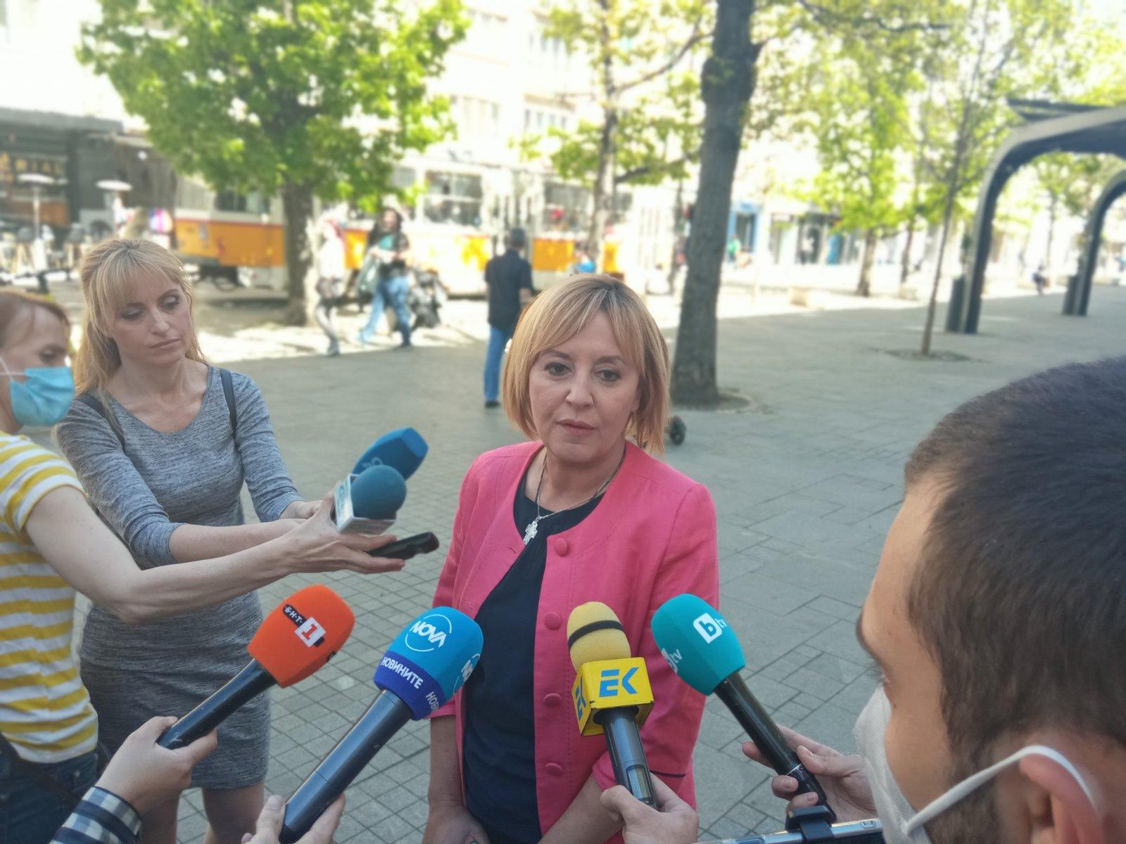 Манолова за служебния кабинет: Оценката ще е според степента на ангажираност към сигналите в Комисията по ревизия