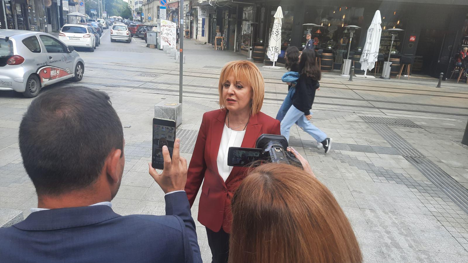 Мая Манолова: Знаел ли е Борисов за подслушването?