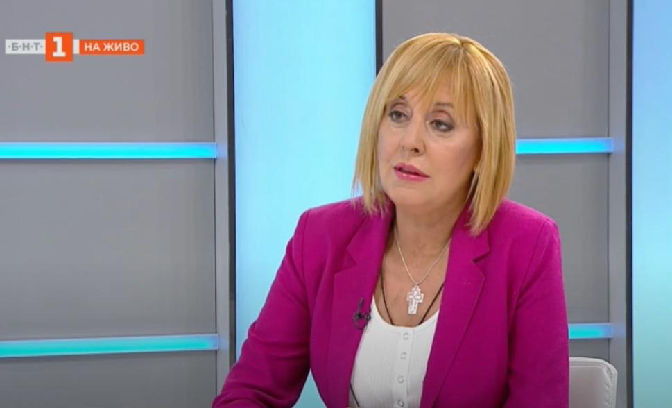 Манолова: Ангажиментът ни е преизчисляване на всички пенсии