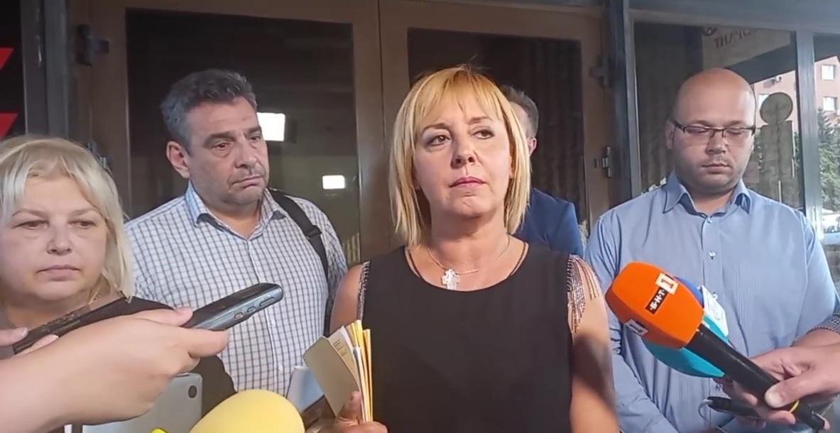 Манолова: Настояваме от 1 октомври да се увеличат пенсиите и детските надбавки