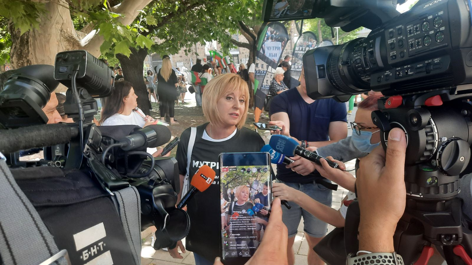 Манолова: Няма да има правителство на ГЕРБ и Борисов няма да бъде премиер