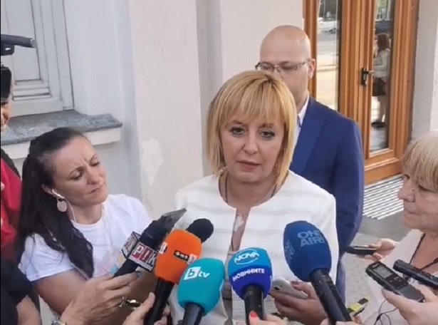 Манолова се срещна с кандидата за премиер на ИТН в парламента