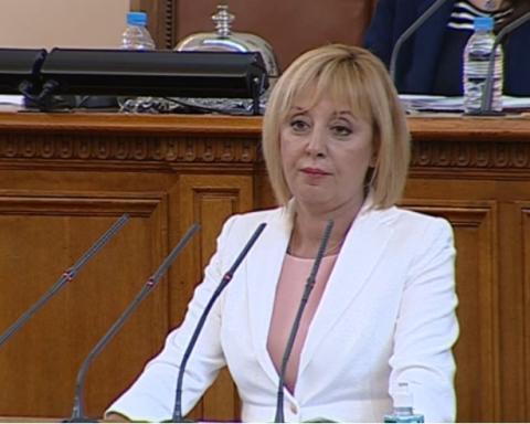 Парламентът избра единодушно Мая Манолова за председател на Комисията по ревизията