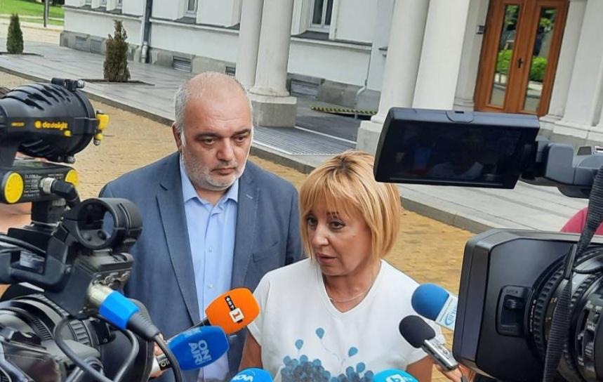 Манолова: Ива Митева нарушава Конституцията, като отказва да свика извънредно парламента