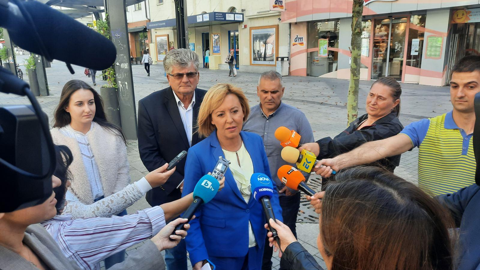 Мая Манолова: От 1 октомври държавата да плати компенсации за скока на тока