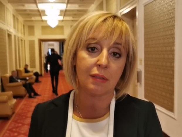 """Манолова: """"Изправи се БГ! Ние идваме!"""" гласувахме за преизчисляване на пенсиите от 1 октомври"""