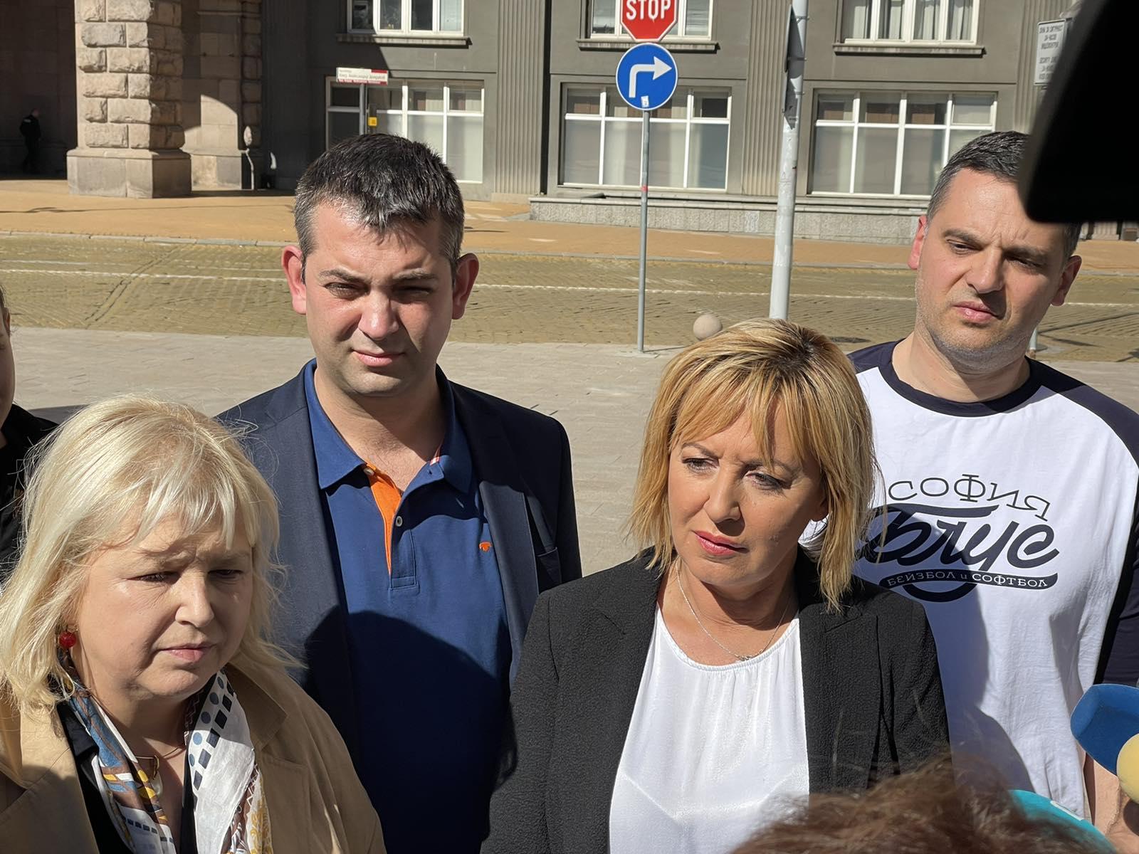 Мая Манолова: Незабавна оставка на енергийния министър заради липсата на мерки за скока на цената на тока