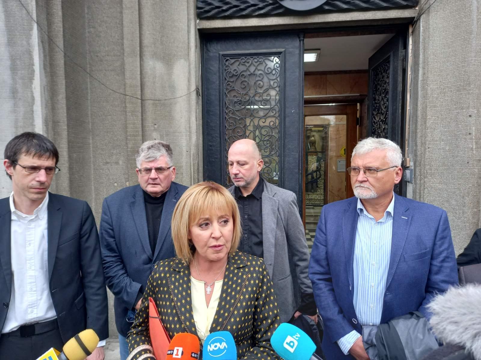 Манолова: Ще бъдем парламентарен омбудсман, който да се грижи за всяка фирма и домакинство