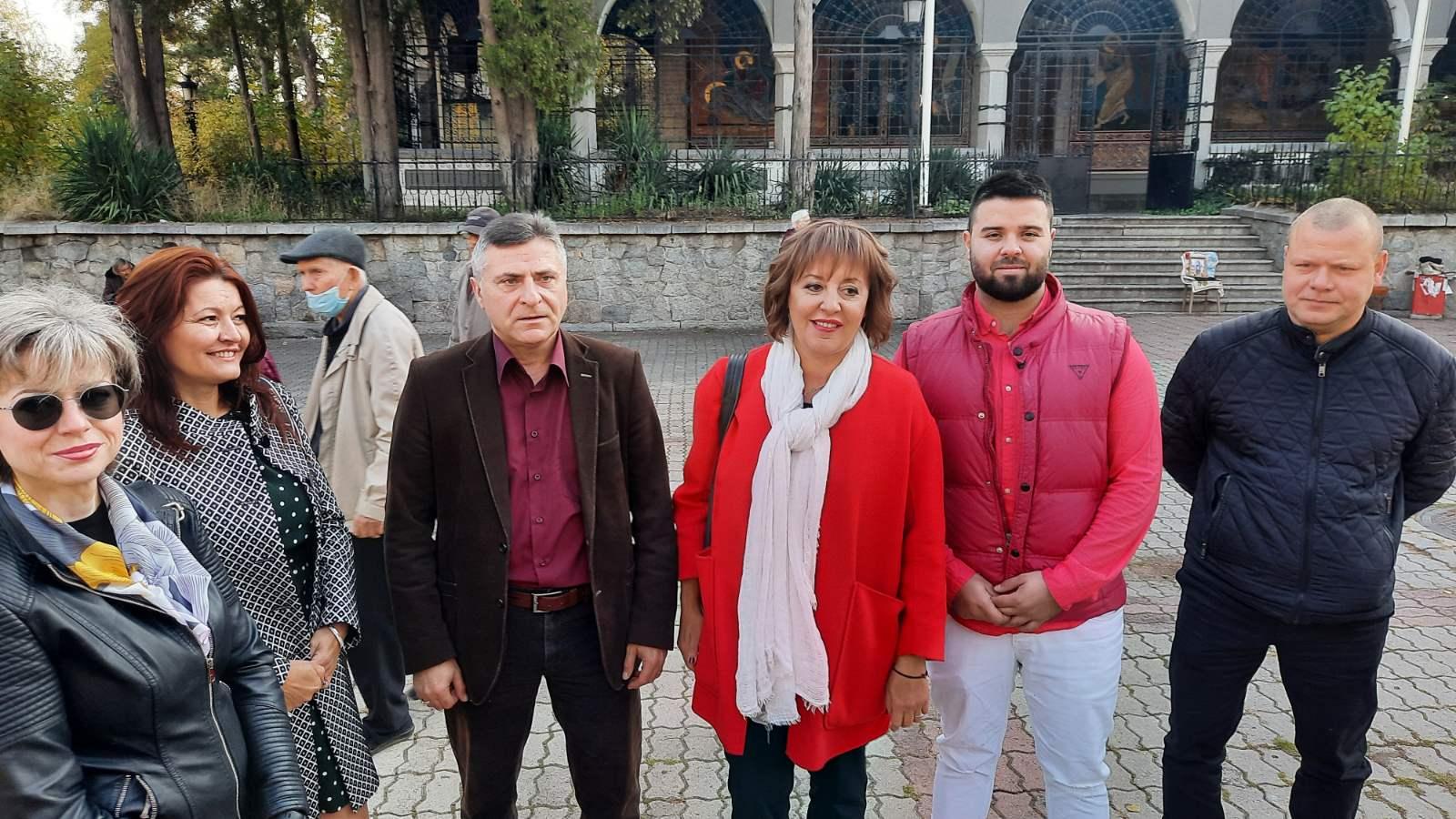 Манолова: Подкрепяме протеста на бизнеса срещу високите цени на тока и спекулациите на борсата