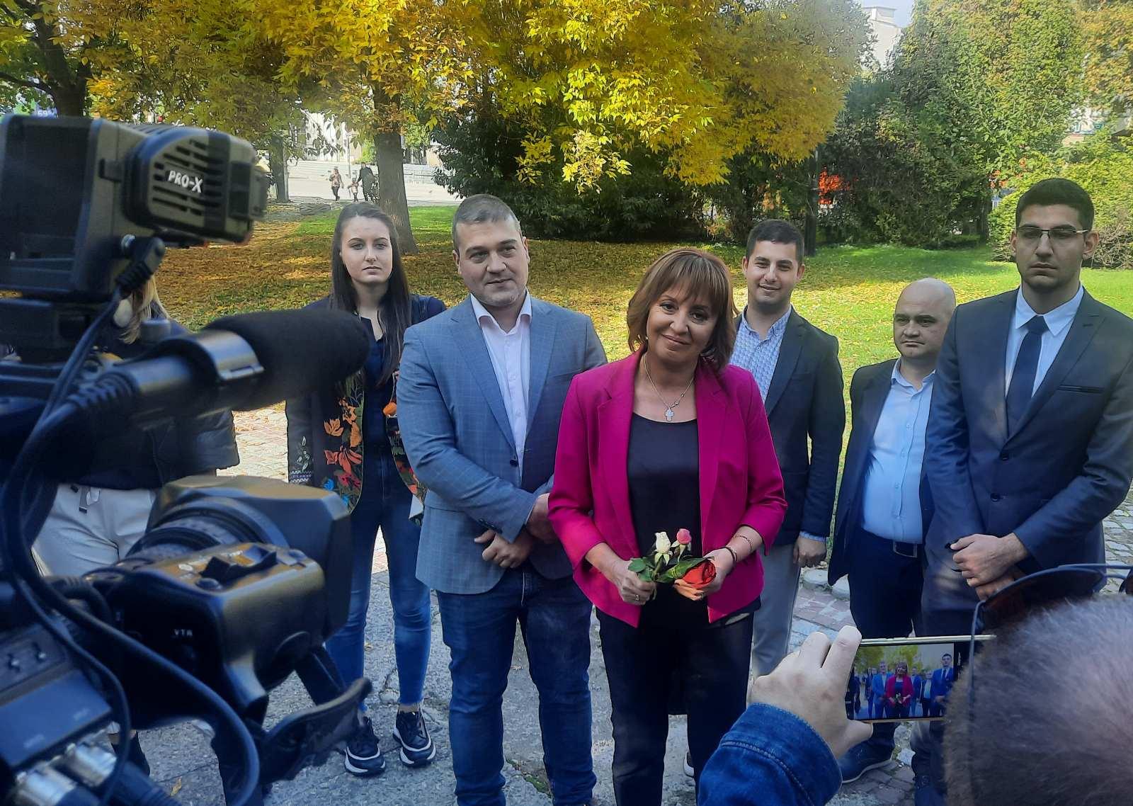 Манолова: В следващия парламент ще предложим отпадане на ДДС върху тока, както призова и ЕК