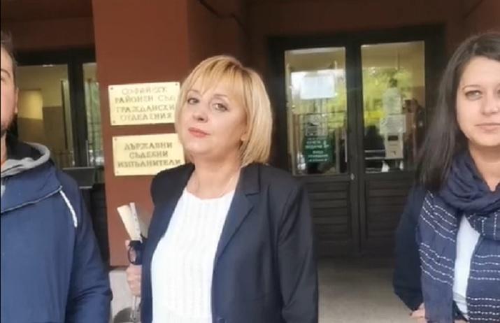 Манолова: Тръгна първото от петте ми дела срещу ПИК. Другите десети месец не са насрочени